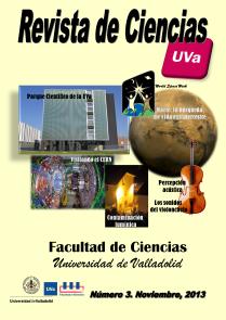 Revista de Ciencias Número 3. Noviembre, 2013